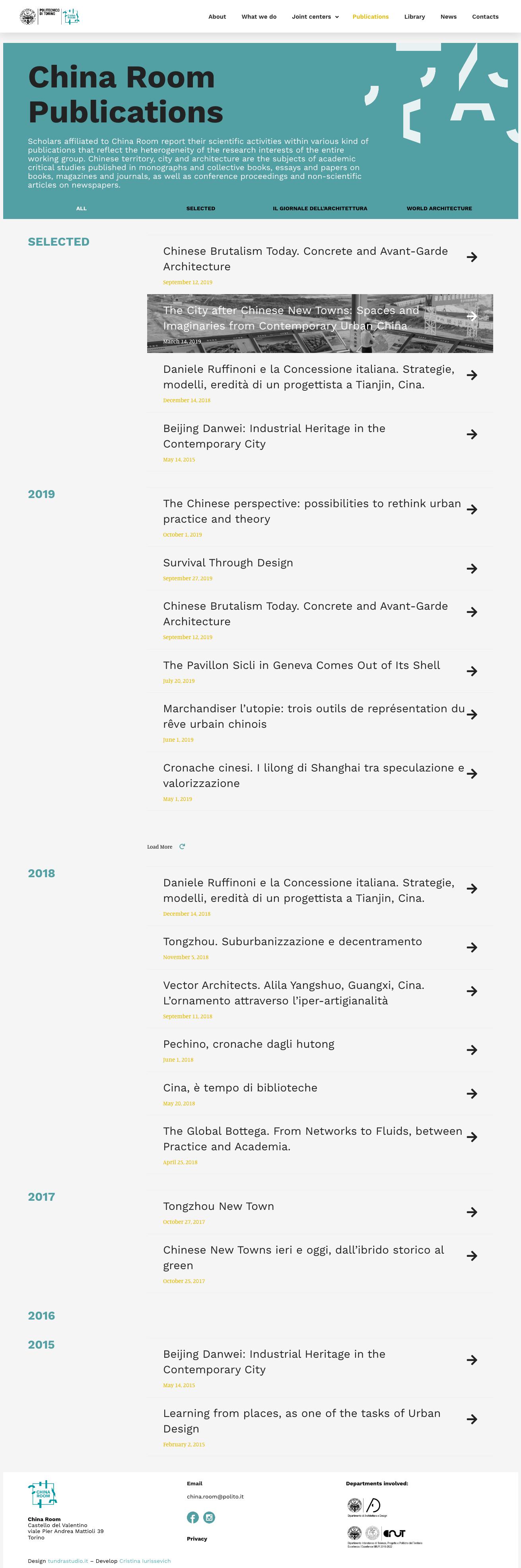Publications–CHINAROOM
